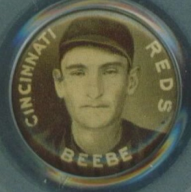 1910-12 Sweet Caporal Pins Fred Beebe #11 Baseball Card