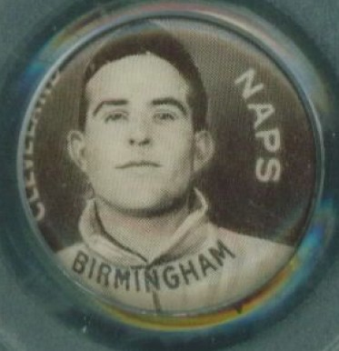 1910-12 Sweet Caporal Pins Joe Birmingham #16 Baseball Card
