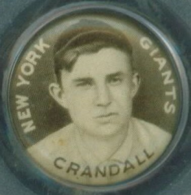 1910 Sweet Caporal Pin Doc Crandall #33 Baseball Card