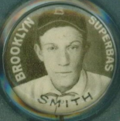 1910-12 Sweet Caporal Pins Hap Smith #132 Baseball Card