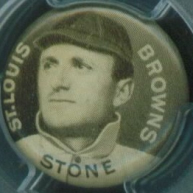 1910-12 Sweet Caporal Pins George Stone #136 Baseball Card