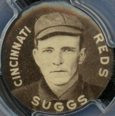1910-12 Sweet Caporal Pins George Suggs #139 Baseball Card