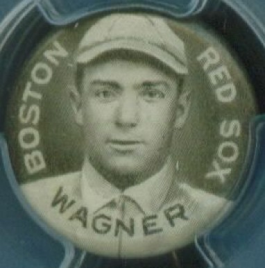 1910-12 Sweet Caporal Pins Heinie Wagner #144 Baseball Card