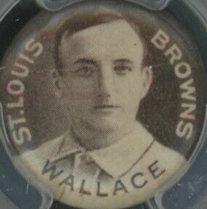 1910-12 Sweet Caporal Pins Bobby Wallace #146nc Baseball Card