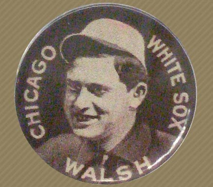 1910-12 Sweet Caporal Pins Ed Walsh #147 Baseball Card