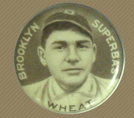 1910-12 Sweet Caporal Pins Zach Wheat #149S Baseball Card