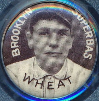 1910-12 Sweet Caporal Pins Zach Wheat #149L Baseball Card