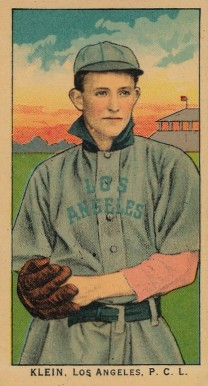 1910 Obak (175 Subjects) Klein, Los Angeles P.C.L. #94 Baseball Card