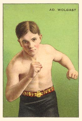 1912 Champions Ad Wolgast # Boxing & Other Card