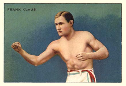 1912 Champions Frank Klaus # Boxing & Other Card