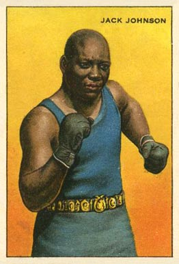 1912 Champions Jack Johnson # Boxing & Other Card