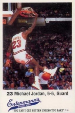 1988 Entenmann's Bulls Michael Jordan #23 Basketball Card
