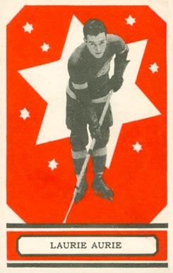 1933 O-Pee-Chee Laurie Aurie #51 Hockey Card