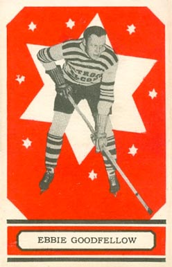 1933 O-Pee-Chee Ebbie Goodfellow #52 Hockey Card