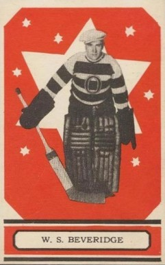 1933 O-Pee-Chee Bill Beveridge #54 Hockey Card