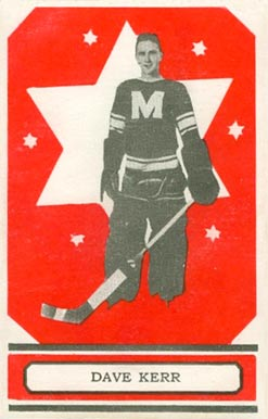 1933 O-Pee-Chee Dave Kerr #59 Hockey Card
