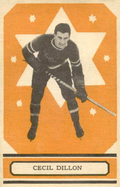 1933 O-Pee-Chee Cecil Dillon #71 Hockey Card
