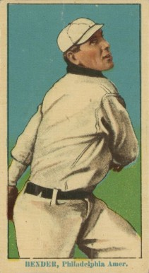 1914 Coupon Cigarettes (Type 2) Chief Bender #10 Baseball Card