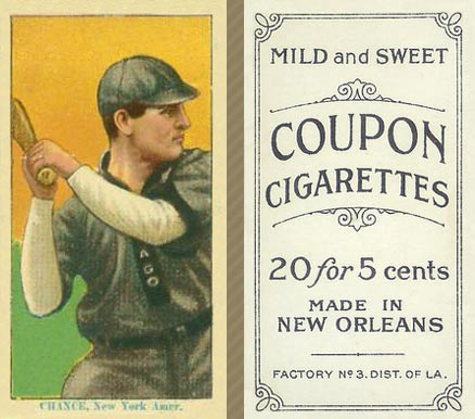 1914 Coupon Cigarettes (Type 2) Frank Chance #25 Baseball Card