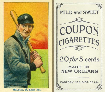 1914 Coupon Cigarettes (Type 2) Owen Wilson #181 Baseball Card