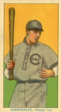 1914 Coupon Cigarettes (Type 2) Heinie Zimmerman #188 Baseball Card