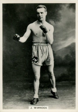 1938 Ardath Photocards Jim Warnock # Boxing & Other Card