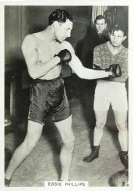 1938 Ardath Photocards Eddie Phillips # Boxing & Other Card