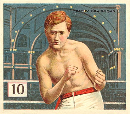 1910 Honest Long Cut Patsy Brannigan #3 Boxing & Other Card