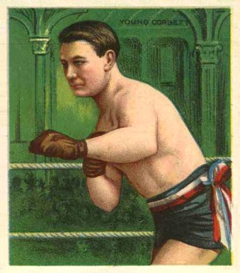 1910 Honest Long Cut Young Corbett #6 Boxing & Other Card
