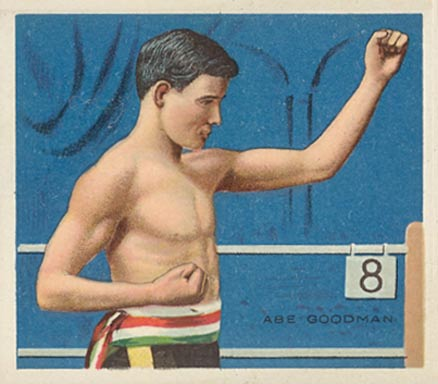 1910 Honest Long Cut Abe Goodman #13 Boxing & Other Card