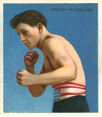 1910 Honest Long Cut Packey McFarland #29 Boxing & Other Card