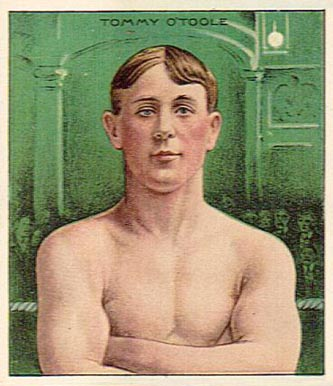 1910 Honest Long Cut Tommy O'Toole #40 Boxing & Other Card