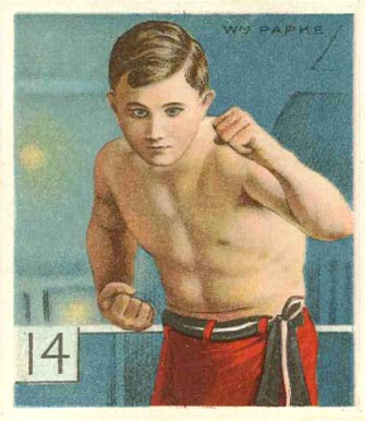 1910 Honest Long Cut Billy Papke #41 Boxing & Other Card