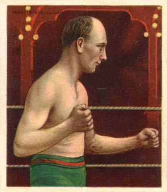 1910 Honest Long Cut Mike Sullivan #46 Boxing & Other Card