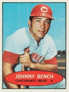 1971 Bazooka Unnumbered Johnny Bench 4 Baseball Card Value Price Guide