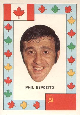 1972 O-Pee-Chee Team Canada Phil Esposito #9 Hockey Card