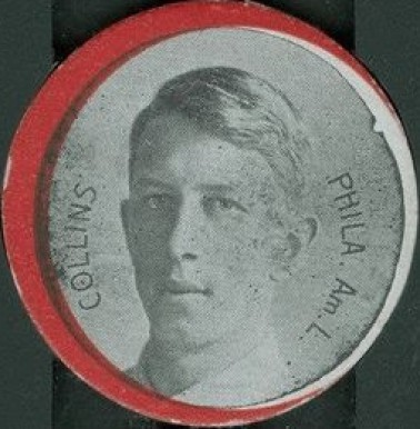 1912 Colgan's Chips Red Borders Eddie Collins #42 Baseball Card