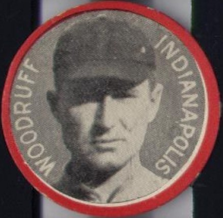 1912 Colgan's Chips Red Borders Sam Woodruff #222 Baseball Card