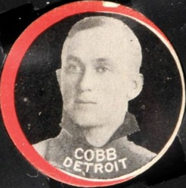 1912 Colgan's Chips Red Borders Ty Cobb # Baseball Card