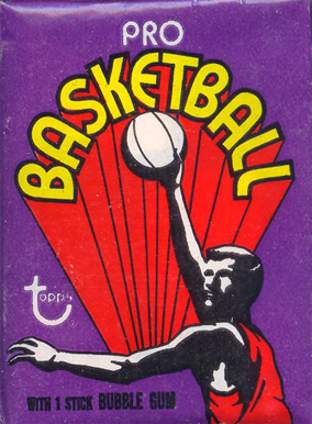 1970-79 Unopened Packs 1972 Topps Wax Pack #72TWP Basketball Card