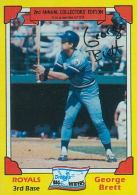 1982 Drake's George Brett #4 Baseball Card