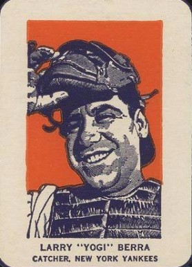 1952 Wheaties Yogi Berra #1 Baseball Card