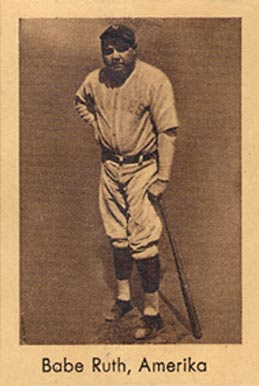 1932 Abdulla Tobacco Babe Ruth #196 Baseball Card
