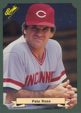 1987 Classic Game Pete Rose #1 Baseball Card