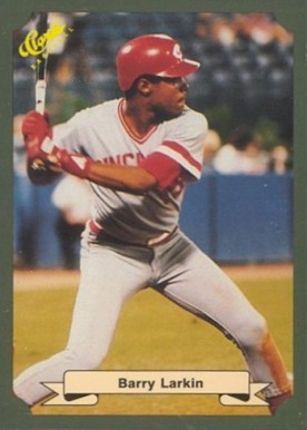 1987 Classic Game Barry Larkin #18 Baseball Card