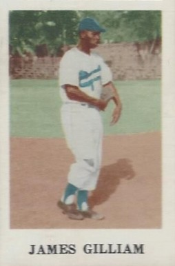 1950 Denia Jim Gilliam # Baseball Card