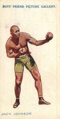 1911 Boys' Friend Jack Johnson #1 Boxing & Other Card