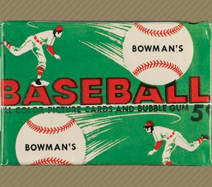 1950-1959 Unopened Packs (1950's)   #54B5CWP Baseball Card