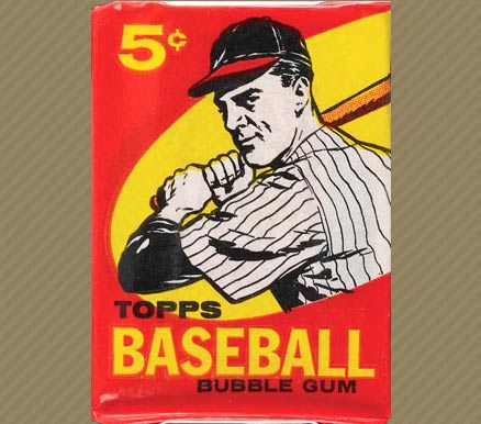 1950 1959 Unopened Packs 1950s 1959 Topps 5 Cent Wax Pack