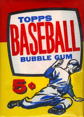 1950-1959 Unopened Packs (1950's)   #57T5CWP Baseball Card